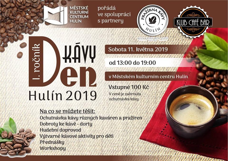 Pozvánka na Hulínský den kávy