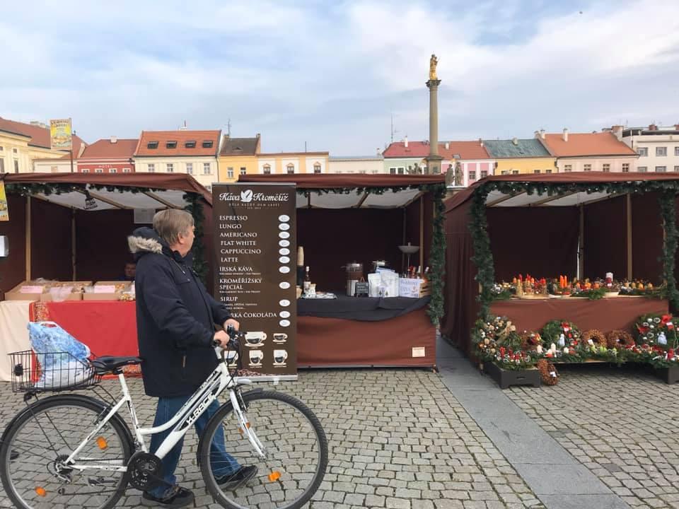 Vánoční jarmark a rozsvícení stromečku v Kroměříži