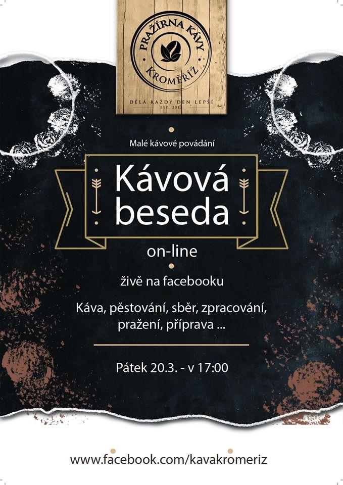 Kávová beseda on-line
