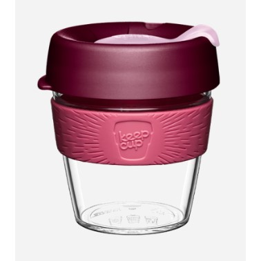 KeepCup Clear BAYBERRY